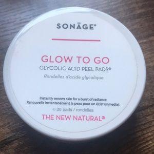 Sonäge Glow To Go peel pads